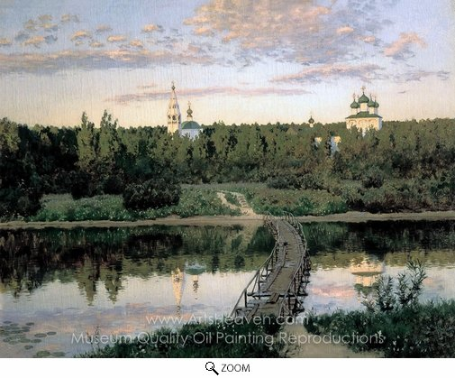 Isaak Levitan, Quiet Abode oil painting reproduction