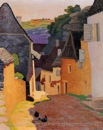 Racamadour Landscape painting reproduction, Felix Vallotton
