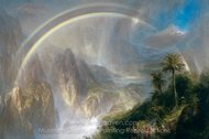 Rainy Season in the Tropics painting reproduction, Frederic Edwin Church