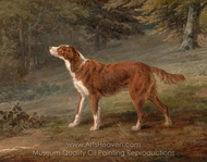 Ranger, a Setter, the Property of Elizabeth Gray painting reproduction, George Garrard