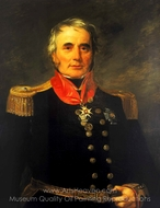 Rear-Admiral Sir James Alexander Gordon painting reproduction, Andrew Morton