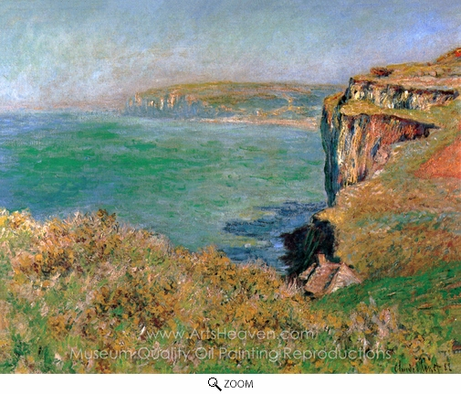 Claude Monet, Reef at Varengeville oil painting reproduction
