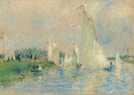 Regatta bei Argenteuil painting reproduction, Pierre-Auguste Renoir