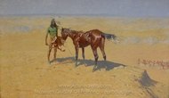 Ridden Down painting reproduction, Frederic Remington