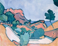 Road in the Mountains painting reproduction, Andre Derain