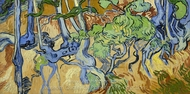 Roots and Tree Trunks painting reproduction, Vincent Van Gogh