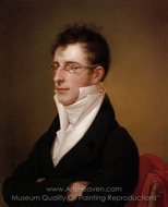 Rubens Peale painting reproduction, Rembrandt Peale