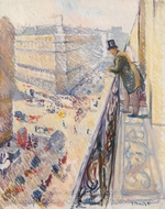 Rue Lafayette painting reproduction, Edvard Munch