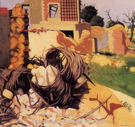 Ruins at Souain painting reproduction, Felix Vallotton