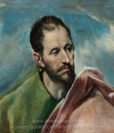 Saint James the Younger painting reproduction, El Greco