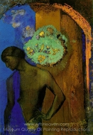 Saint John painting reproduction, Odilon Redon