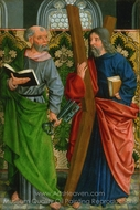 Saints Peter and Andrew painting reproduction, German Painter