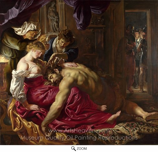 Peter Paul Rubens, Samson and Delilah oil painting reproduction