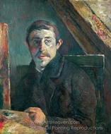 Self-Portrait painting reproduction, Paul Gauguin