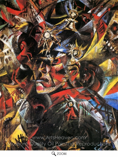 Otto Dix, Self-Portrait as Mars oil painting reproduction