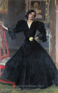 Senora de Sorolla painting reproduction, Joaquin Sorolla