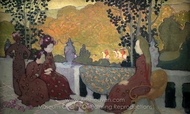 September Evening painting reproduction, Maurice Denis