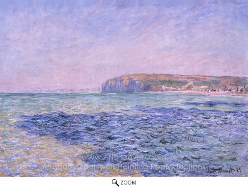 Claude Monet, Shadows on the Sea oil painting reproduction