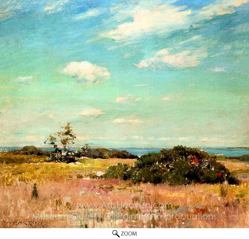 William Merritt Chase, Shinnecock Hills, Long Island oil painting reproduction