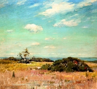 Shinnecock Hills, Long Island painting reproduction, William Merritt Chase