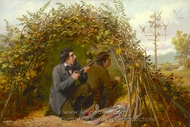 Shooting From Ambush painting reproduction, Arthur Fitzwilliam Tait