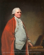 Sir Noah Thomas painting reproduction, George Romney