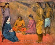 Sister of Charity painting reproduction, Paul Gauguin