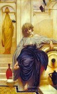 Songs Without Words (Lieder Ohne Worte) painting reproduction, Lord Frederic Leighton