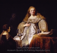 Sophonisba Receives the Cup of Poison painting reproduction, Rembrandt Van Rijn