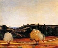 Southern France painting reproduction, Andre Derain