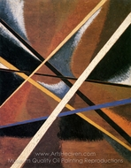Space-Force Construction painting reproduction, Liubov Popova