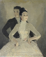 Spanish Dancers painting reproduction, Dietz Edzard