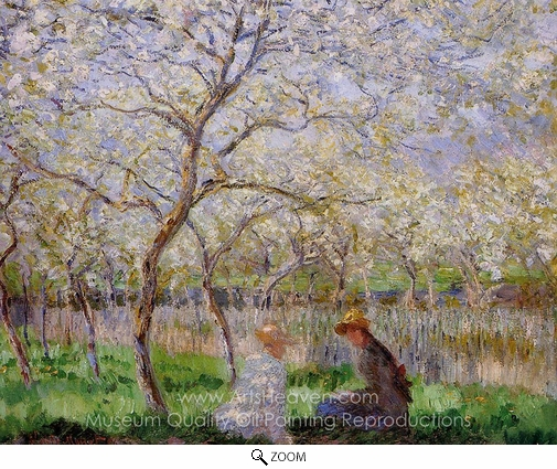 Claude Monet, Springtime oil painting reproduction