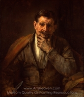 St. Bartholomew painting reproduction, Rembrandt Van Rijn