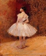 Standing Dancer painting reproduction, Jean-Louis Forain