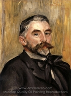 Stephane Mallarme painting reproduction, Pierre-Auguste Renoir