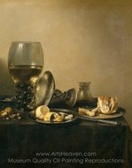 Still Life painting reproduction, Pieter Claesz