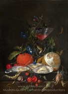 Still Life painting reproduction, Jan De Heem