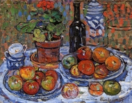 Still Life painting reproduction, Maurice Prendergast
