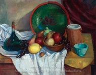Still Life painting reproduction, Angel Zarraga
