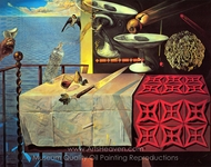 Still Life, Fast Moving painting reproduction, Salvador Dali (inspired by)