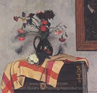 Still Life Flowers painting reproduction, Felix Vallotton