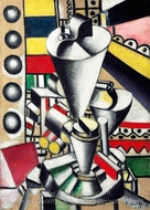 Still Life in the Machine Elements painting reproduction, Fernand Leger