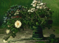 Still Life with a Bouquet of Daisies painting reproduction, Vincent Van Gogh