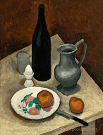 Still Life with Eggs painting reproduction, Roger De La Fresnaye