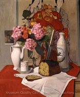 Still Life with Flowers painting reproduction, Felix Vallotton