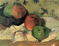 Still Life with Friend Jacob painting reproduction, Paul Gauguin