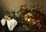 Still Life with Fruit and Roemer painting reproduction, Pieter Claesz