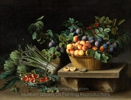 Still Life with Fruits painting reproduction, Louise Moillon