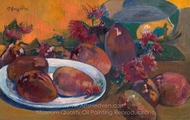 Still Life with Mangos painting reproduction, Paul Gauguin